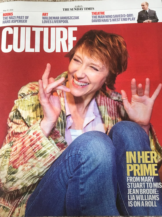 UK Culture Magazine May 2018: LIA WILLIAMS Ben Whishaw ROSS LYNCH Miah Persson