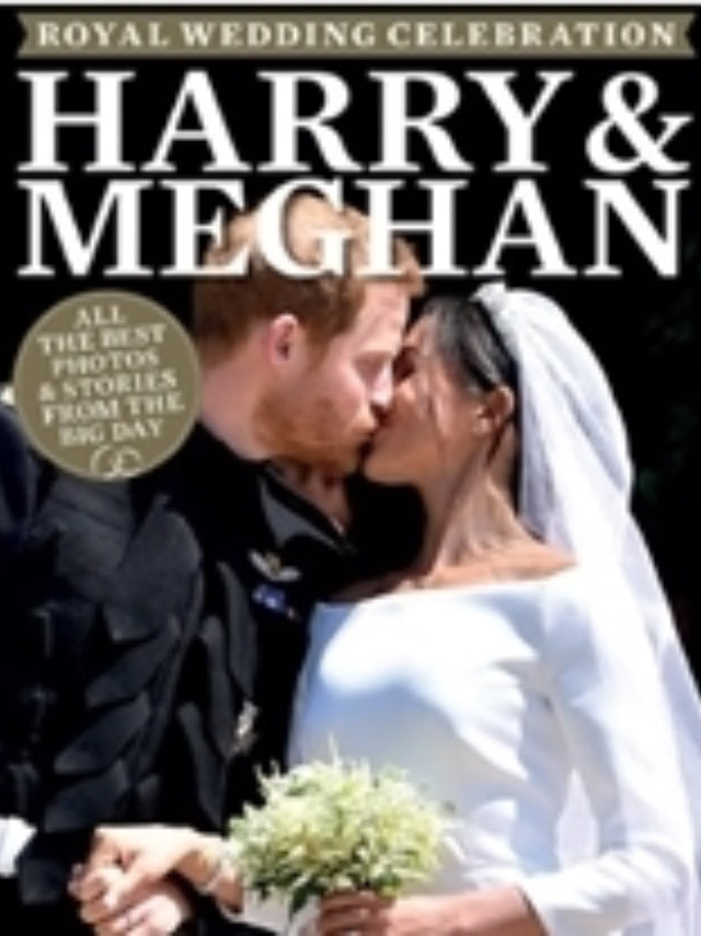 MEGHAN MARKLE PRINCE HARRY ROYAL WEDDING SOUVENIR UK Celebration Magazine