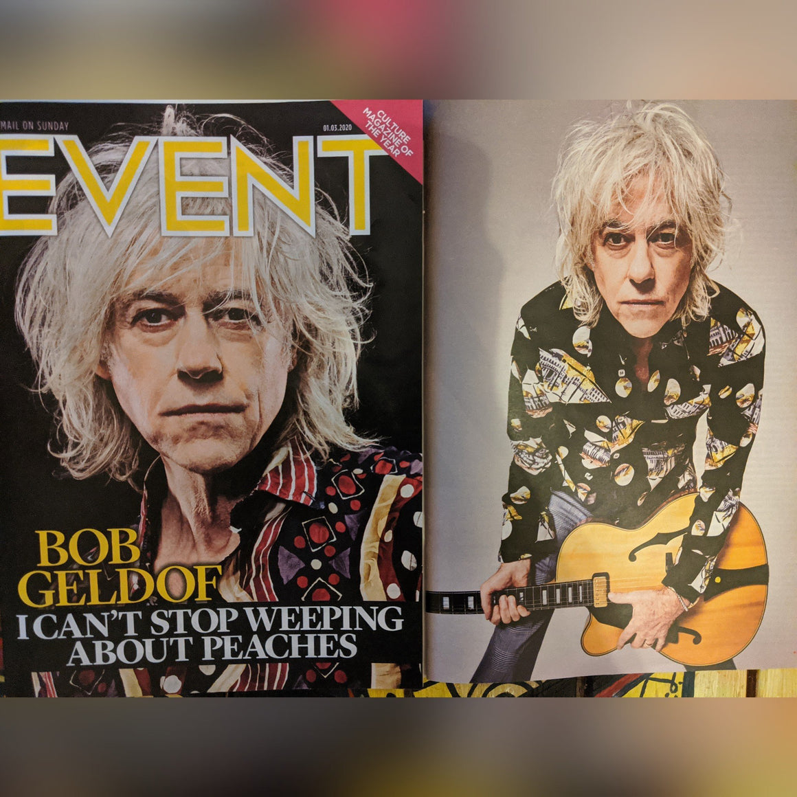 UK EVENT Magazine March 2020: BOB GELDOF Pete Entwhistle THE WHO