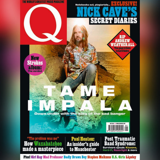 UK Q MAGAZINE APRIL 2020: TAME IMPALA COVER FEATURE