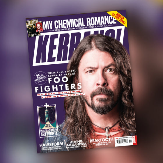 UK Kerrang! Magazine March 2020: Dave Grohl (Foo Fighters) - My Chemical Romance