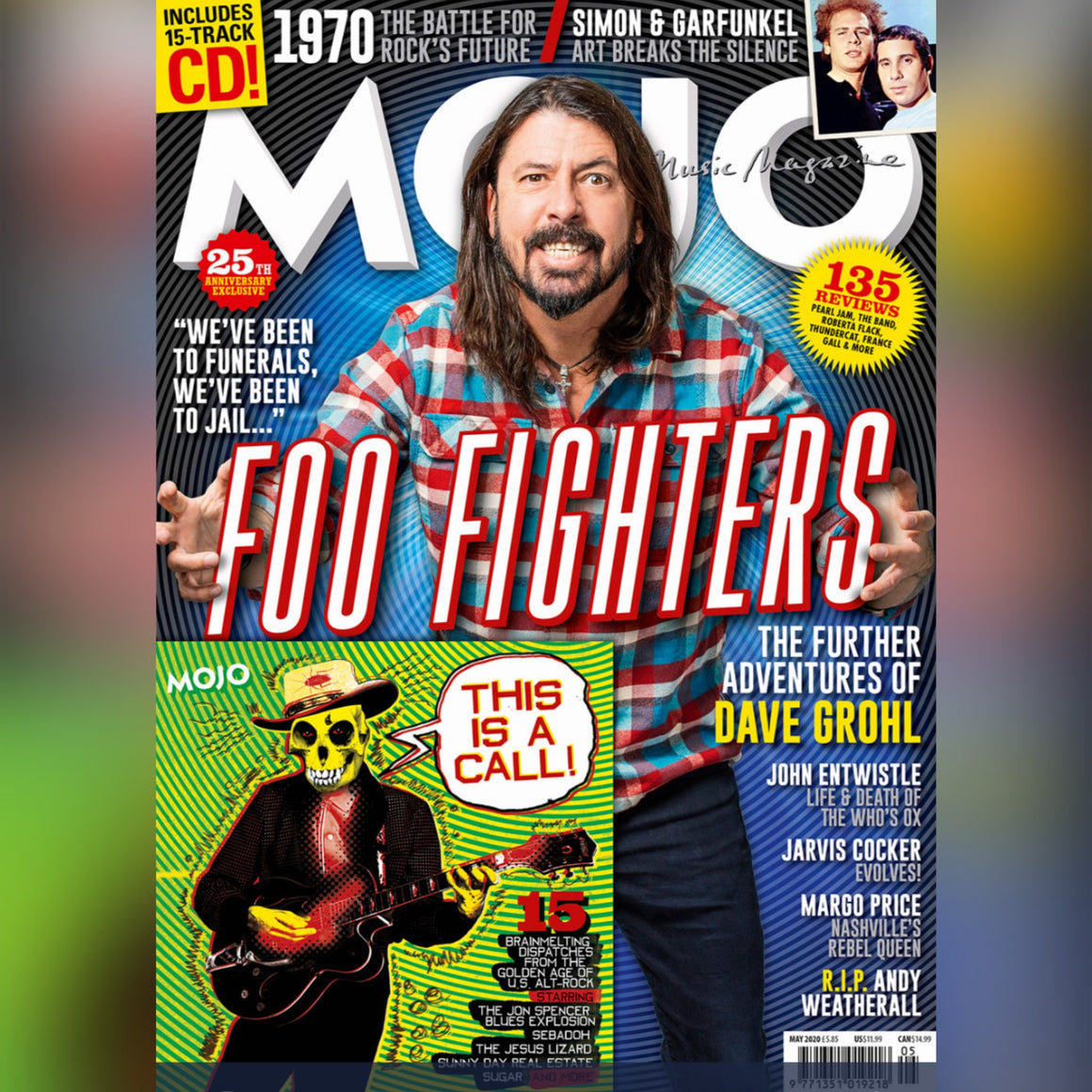 UK Mojo Magazine May 2020: Dave Grohl Foo Fighters