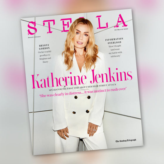 STELLA MAGAZINE - 29 March 2020 Katherine Jenkins cover