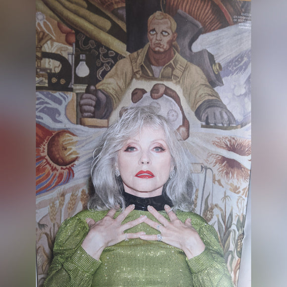 LONDON ES MAGAZINE - 3 April 2020: Blondie (Debbie Harry)