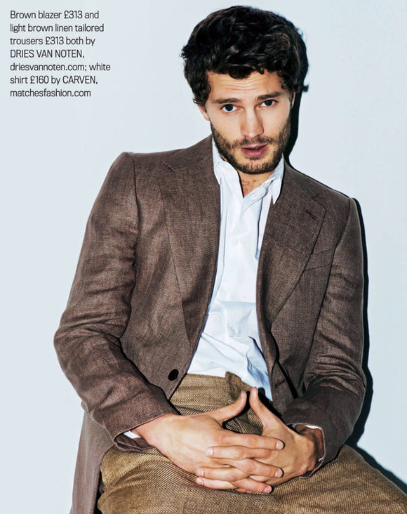 50 Shades of Grey JAMIE DORNAN Photo interview SHORTLIST MODE MAGAZINE 2012