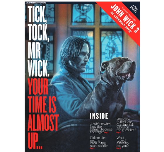 JOHN WICK CHAPTER 3 (KEANU REEVES) SPECIAL UK FEATURE MAY 2019