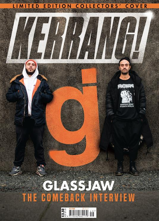 KERRANG! #1700 AMITY AFFLICTION Glassjaw PVRIS Linkin Park Chester Bennington