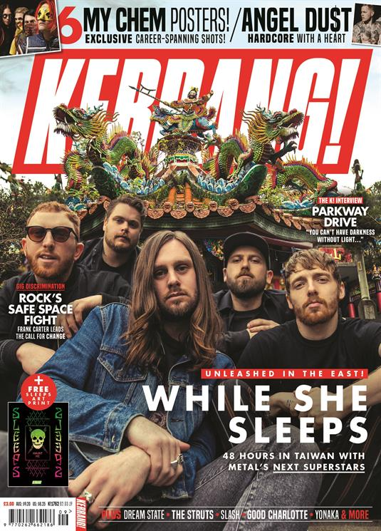 KERRANG! magazine March 2019: While She Sleeps My Chemical Romance Angel Du$t