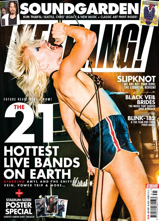 KERRANG! magazine August 3 2019 Amyl and The Sniffers Ghost Black Veil Brides