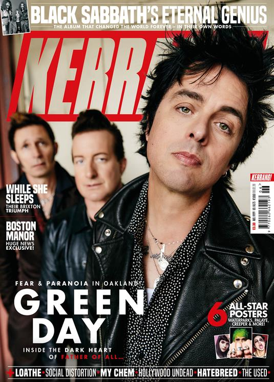 KERRANG! magazine Feb 2020: Green Day Cover + Exclusive on Father Of All