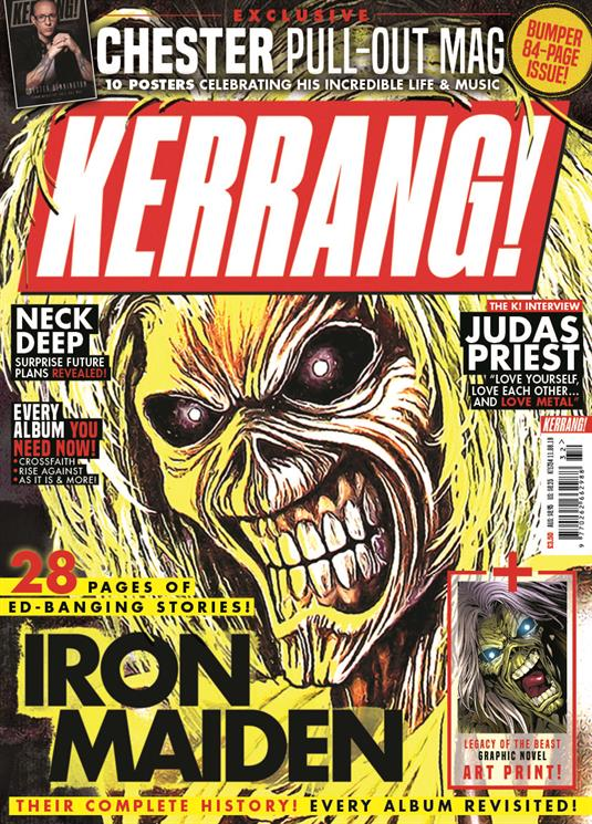 Kerrang! Magazine August 2018: Iron Maiden Cover and Legacy of the Beast Art Print