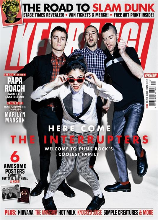 KERRANG! magazine 13 April 2019: The Interrupters MARILYN MANSON Babymetal RAMMSTEIN