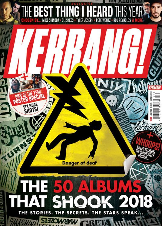 KERRANG! December 2018: TWENTY ONE PILOTS Mike Shinoda LINKIN PARK Oli Sykes