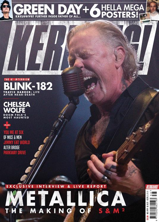 KERRANG! magazine 21 Sept 2019 Metallica Cover + Art Print - Green Day Blink-182
