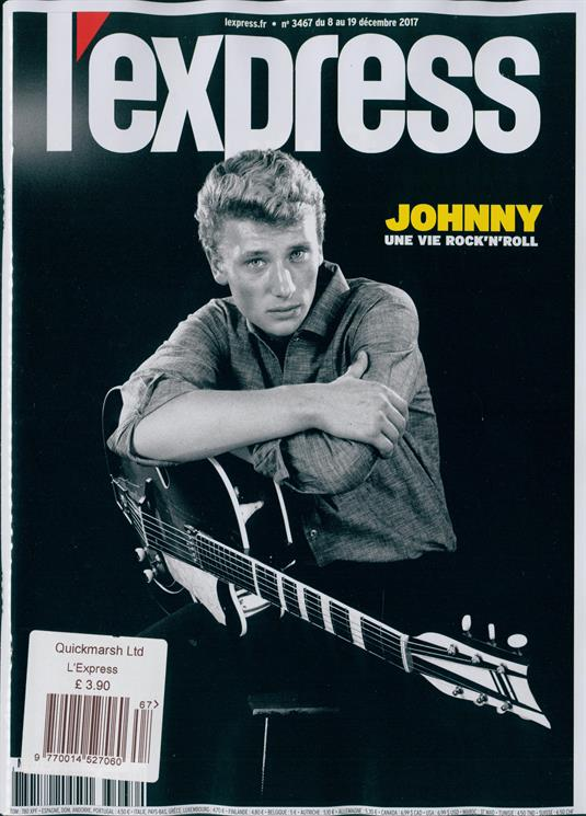 L'EXPRESS SPECIAL HOMMAGE JOHNNY HALLYDAY # NEW BRAND