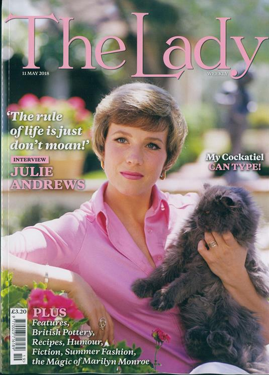 THE LADY magazine May 2018 Julie Andrews Photo Cover Interview // Marilyn Monroe