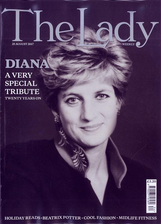 UK Lady magazine 25 August 2017 Princess Diana - A Very Special Tribute