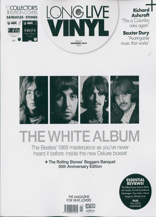 Long Live Vinyl Magazine December 2018: The Beatles - The White Album