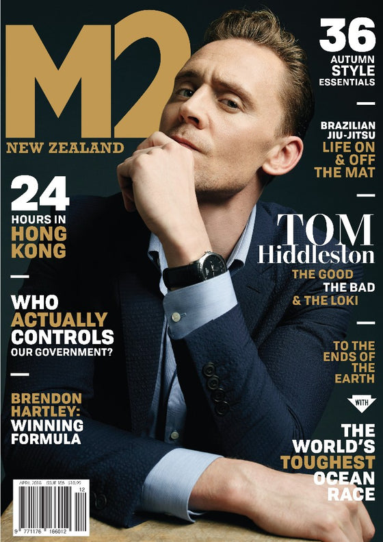 M2 New Zealand Magazine 2018 Tom Hiddleston Cover Interview
