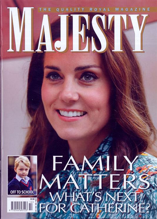 MAJESTY magazine October 2017 - Kate Middleton Prince George