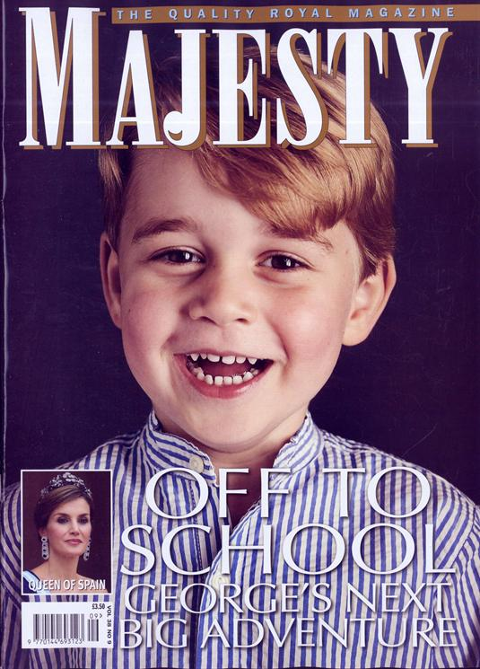 Majesty Magazine August 2017 Prince George - Off To School
