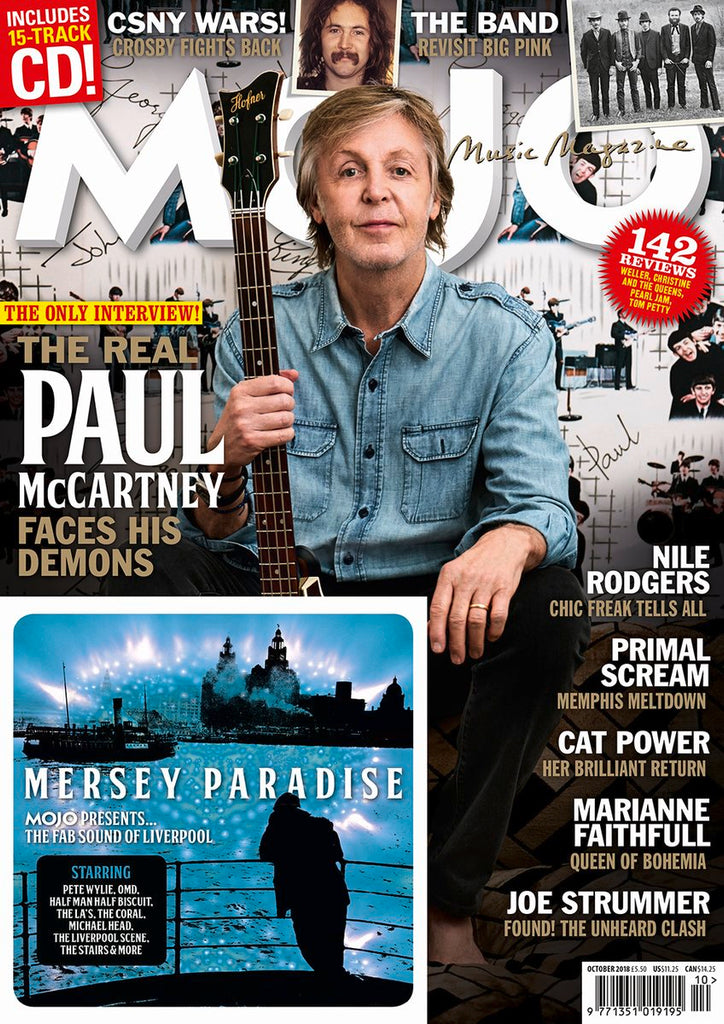 UK MOJO magazine October 2018 - Paul McCartney The Beatles Nile Rodgers David Crosby