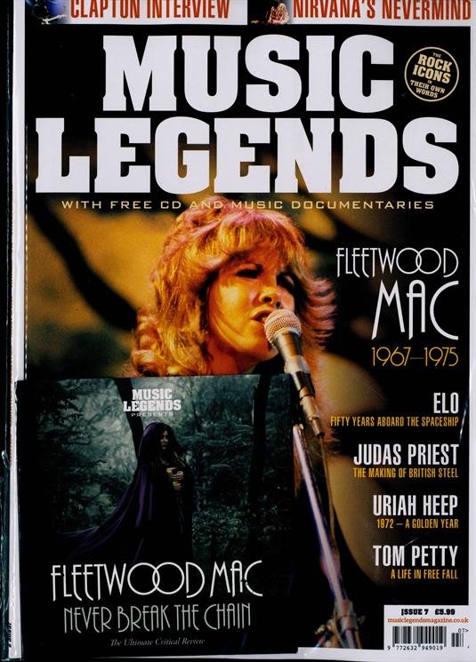 Music Legends Magazine #7 - Fleetwood Mac + Exclusive CD