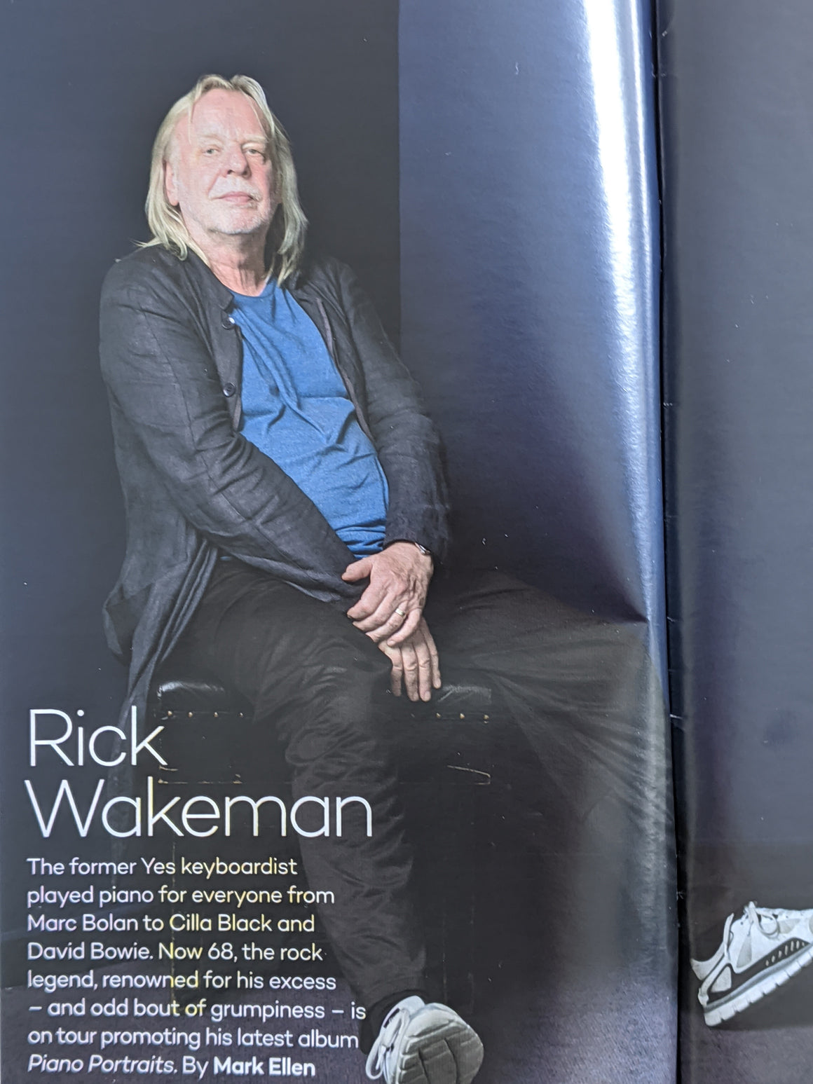 UK Saga Magazine October 2017 Rick Wakeman Yes Interview