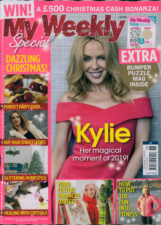 My Weekly Special Series Magazine November 2019: Kylie Minogue