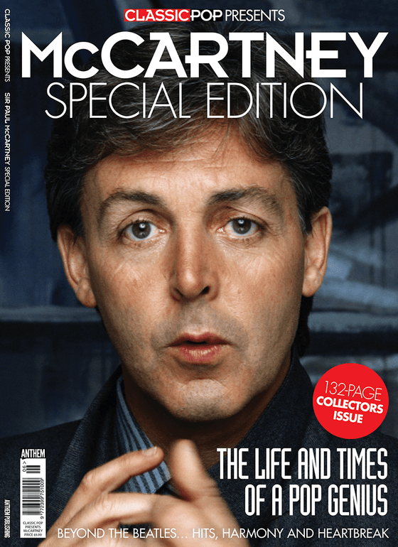 CLASSIC POP magazine 2017 - Paul McCartney - 132 Page Collectors Issue