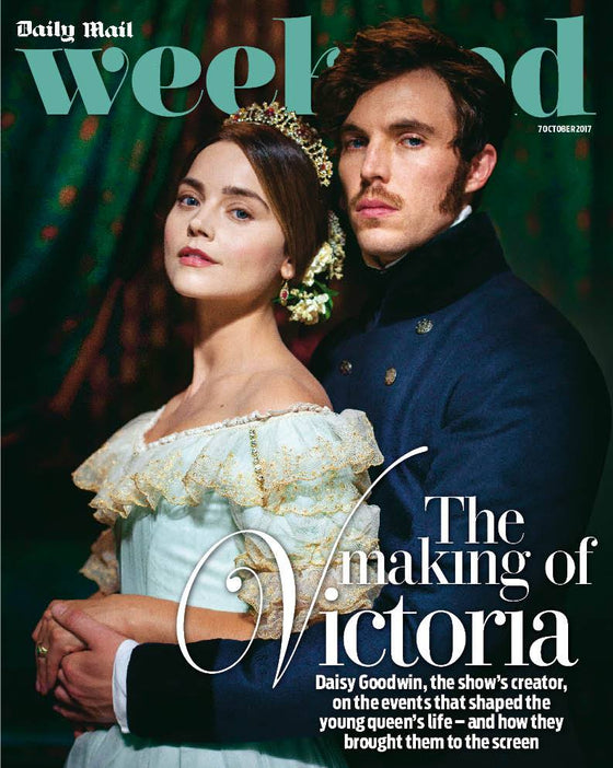 UK Weekend Magazine 7th October 2017 Jenna Coleman Tom Hughes Making of Victoria