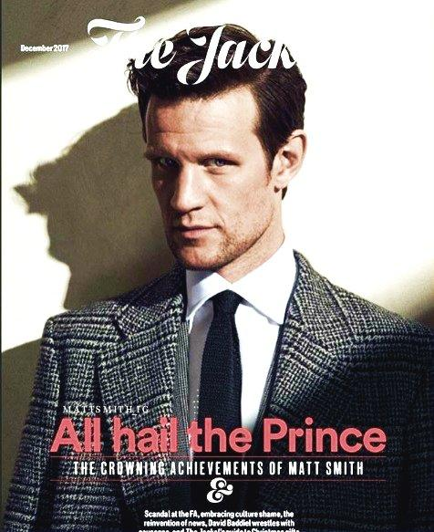 Matt Smith Photo Cover Interview The Jackal Magazine December 2017