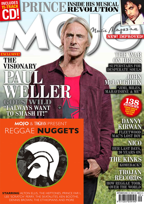 MOJO magazine September 2018 - Paul Weller Prince (Inside His Musical Revolution)