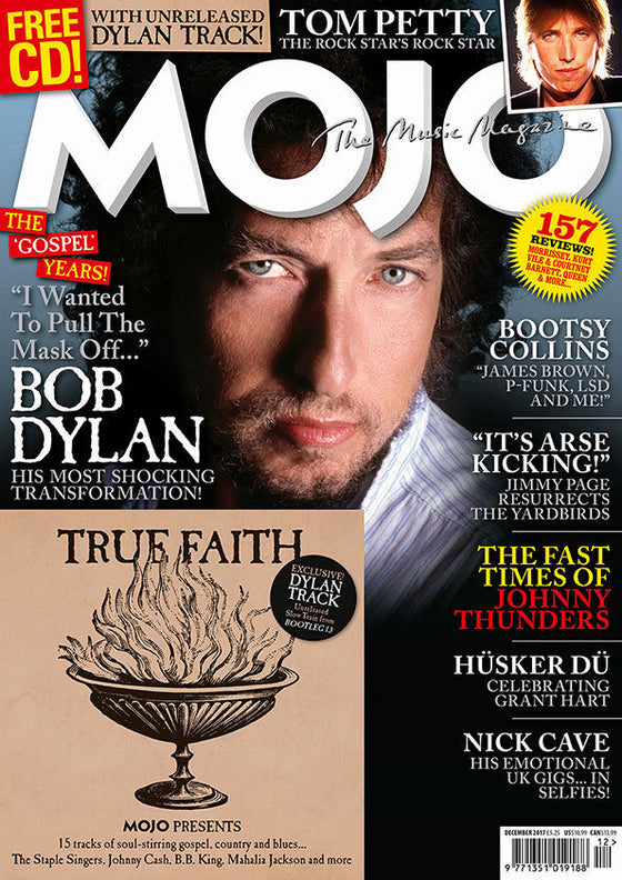 Bob Dylan on the cover of Mojo Magazine