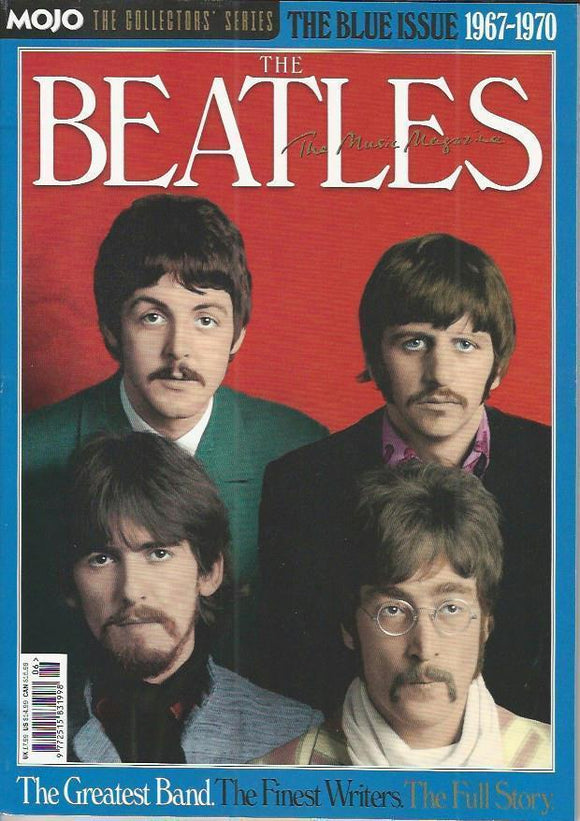 UK MOJO COLLECTORS' SERIES MAGAZINE: THE BEATLES - THE BLUE ISSUE 1967-1970