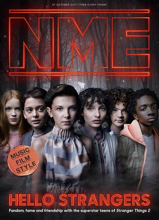 NME Magazine Stranger Things cover