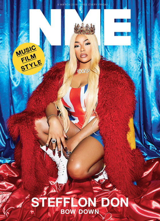 UK NME Magazine MARCH 2018: STEFFLON DON COVER & INTERVIEW - FINAL ISSUE