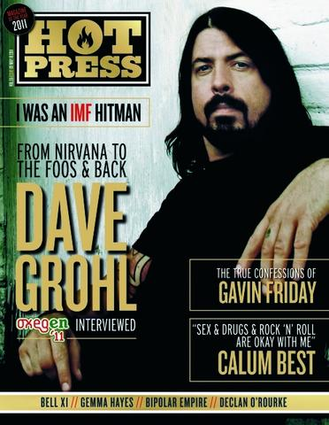 HOT PRESS Magazine #3509 DAVE GROHL - THE FOO FIGHTERS
