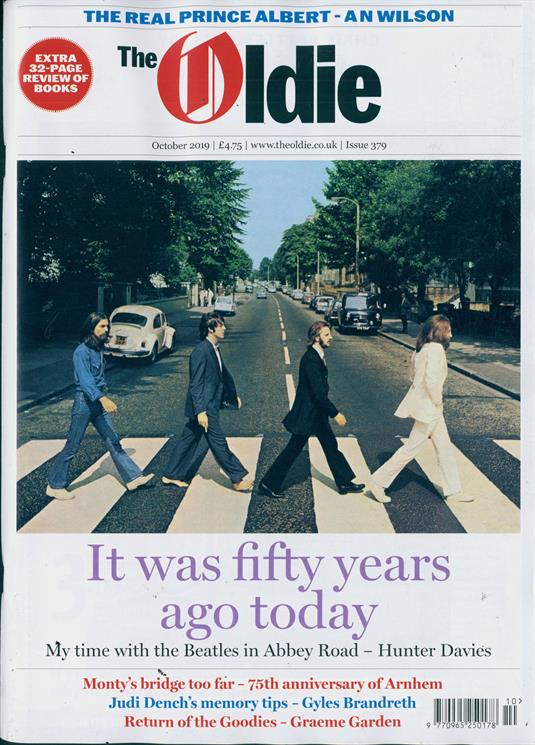 Oldie Monthly Magazine October 2019: THE BEATLES COVER STORY