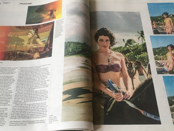 UK Observer Review July 2018: AMY WINEHOUSE Unseen Photos Beanie Feldstein