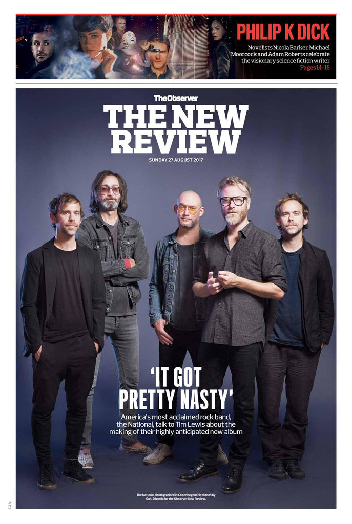 Observer New Review 27th August 2017 The National Cover Story