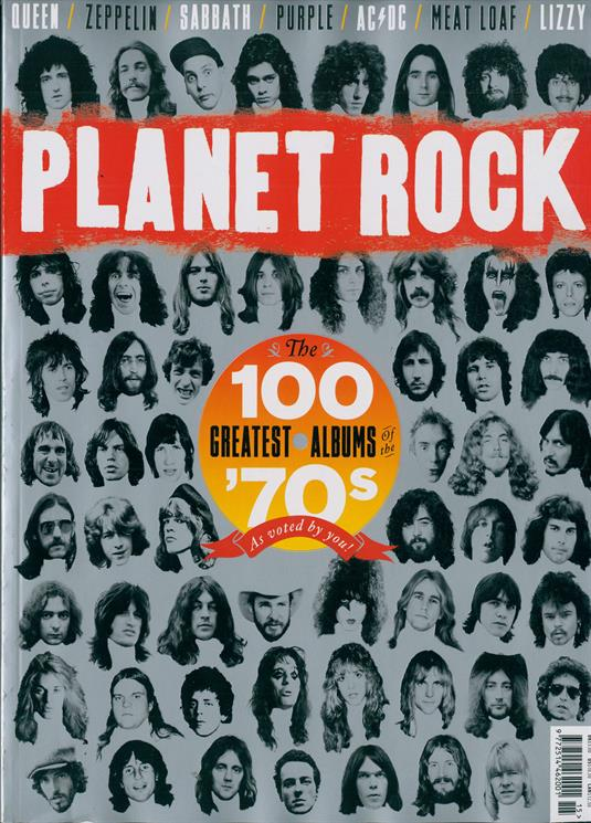 PLANET ROCK MAGAZINE - No.15: 70s Album Special - QUEEN Kiss AC/DC Alice Cooper