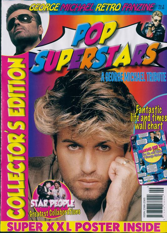 Pop Superstars Poster Magazine - A George Michael Tribute Edition