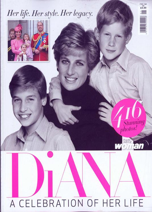 Princess Diana - A Celebration of Her Life UK Magazine - 416 Stunning Photos!