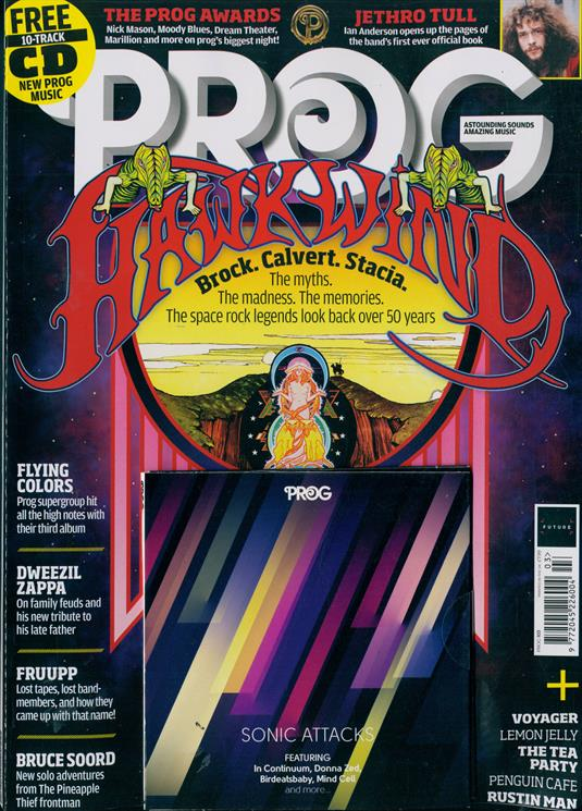 UK PROG Magazine #103 November 2019: HAWKWIND Special Issue & Free CD