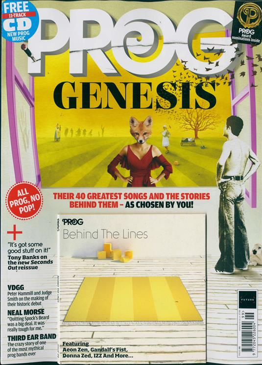 Prog Magazine Issue 99 - GENESIS COVER AND FEATURE + Free CD