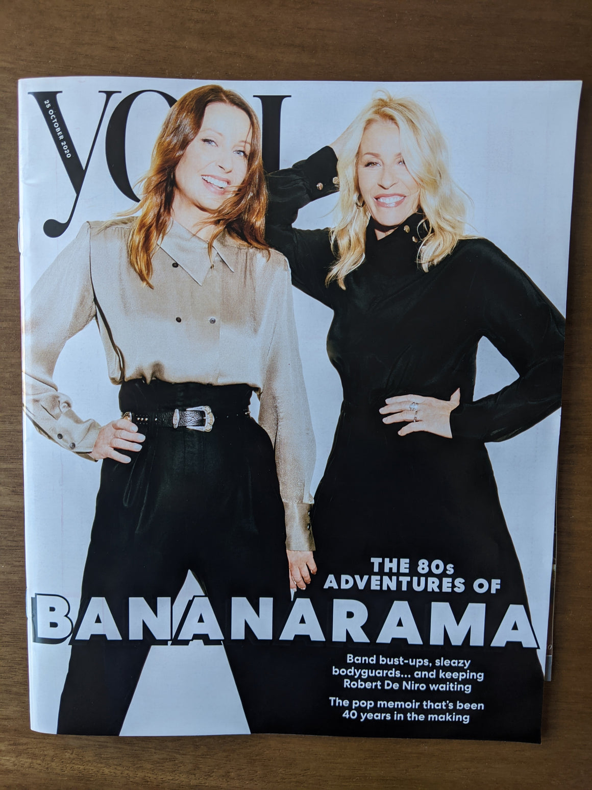 UK You Magazine October 2020: BANANARAMA COVER & FEATURE