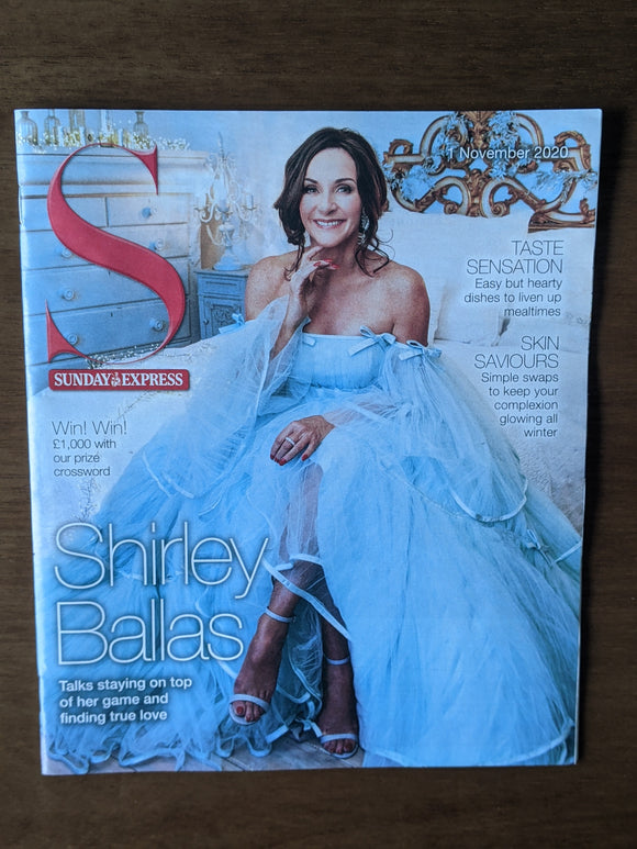 S EXPRESS Magazine 11/2020: SHIRLEY BALLAS COVER FEATURE Russell Watson