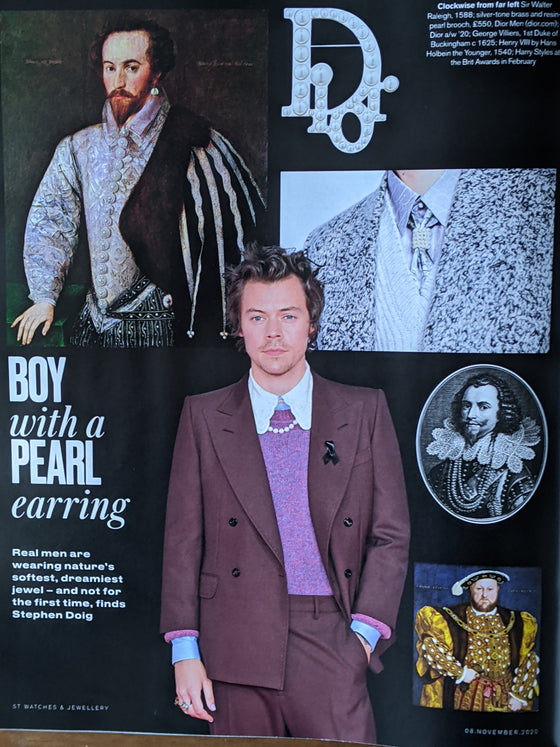 ST Watches & Jewellery Magazine A/W 2020 Harry Styles Kate Moss