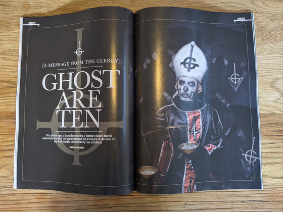 UK Metal Hammer Magazine December 2020 Ghost Interview